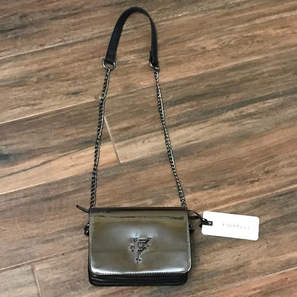 NWT 👛 Fiorelli brand gun metal women s purse 2993f0336361c